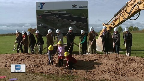 YMCA broke ground on a new child care center expansion project
