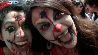 Zombie Apocalypse In Chile - Video