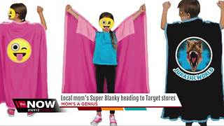 Local mom's Super Blanky creation heading to Target stores nationwide - Video