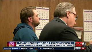 Former KCSO deputy pleaded not guilty to new sexual assault charges