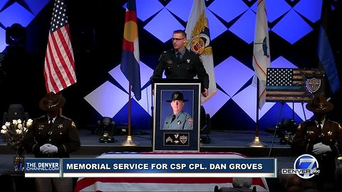 CSP Captain Dan Haley remembers Corporal Dan Groves