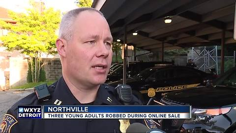 Three robbed at gunpoint in Northville during pre-arranged online transaction