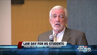 Students learn about law at law day