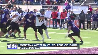 Yotes beat Bulldogs 59-27 for back to back wins - Video