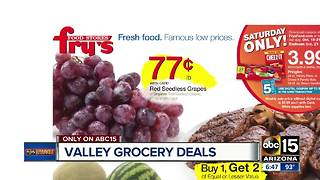 Grocery deals to save you money! - Video