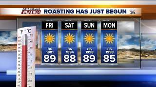 Chief Meteorologist Erin Christiansen's KGUN 9 Forecast Thanksgiving, Thursday, November 23, 2017 - Video