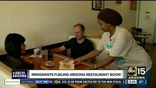 Immigrants helping fuel Arizona restaurant boom - Video