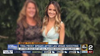 Tina Frost speaks for first time since Las Vegas Shooting - Video