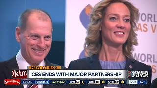 CES wraps up with major international business partnership - Video
