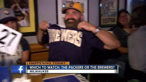 Milwaukee-area bars host watch parties for Brewers, Packers Monday night games
