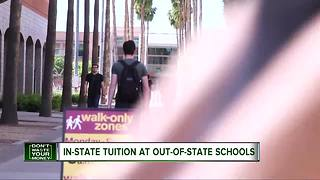 In-state tuition for out-of-state students - Video
