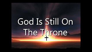 God Can't be Silenced! Psalm 47:8 God reigns over the nations; God is seated on his holy throne.