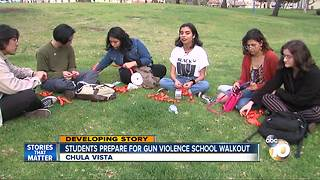 Students prepare for gun violence school walkout - Video