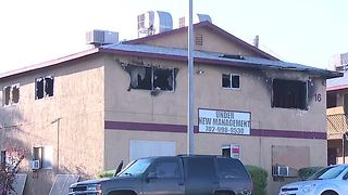 Grease fire destroys several Henderson apartments - Video