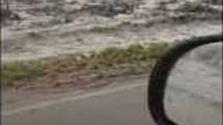 Flash Flood Washes Debris From Black Mountain Fire's Burn Scar on to Utah Highway - Video
