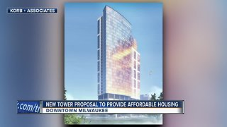 32-story affordable housing high rise proposed for Milwaukee's downtown