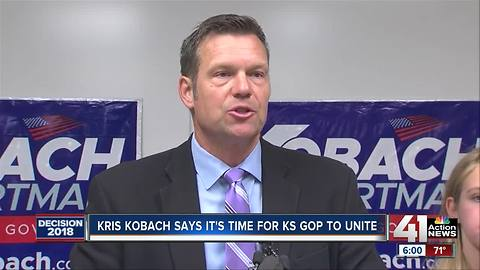 Kobach maintains lead after most provisional ballots counted