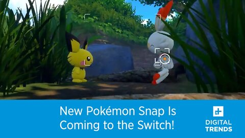 New Pokémon Snap Is Coming to the Switch!