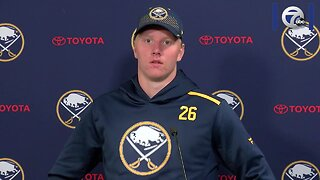 Rasmus Dahlin excited for his second season in the NHL