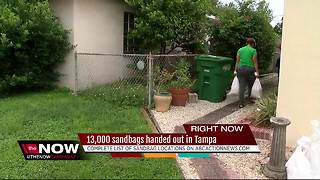 Sandbag locations throughout the Tampa Bay area - Video