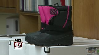 Operation Boots on the playground provides boots to kids - Video