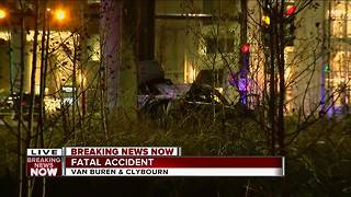Two men killed in downtown Milwaukee crash - Video
