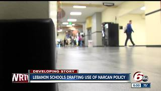 Narcan overdose treatment drug could be carried at Lebanon schools - Video