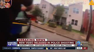 Baltimore Police release officer-involved shooting body cam footage