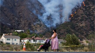 Dangerous Wildfire Grows In Los Angeles