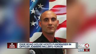 Packed Dixie Roadhouse to honor fallen officer