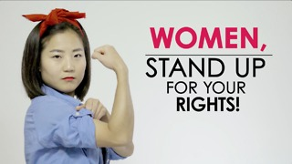 Woman! Fight for your rights! - Video