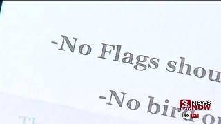 Veteran upset apartment told him to remove American flag - Video