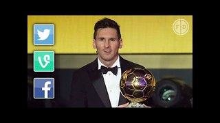 Lionel Messi Wins Fifth Ballon d'Or | Internet Reacts - Video