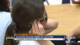 Weather keeps over 1,000 students from enjoying the eclipse - Video