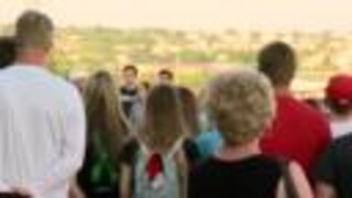Balloon release held in honor of Gretna teens killed in crash a year ago Wednesday