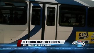City offers free rides to the polls on Election Day