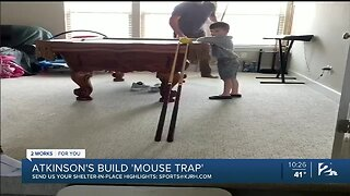 Home Highlights: Atkinson Family's 'Mouse Trap'