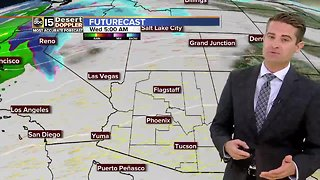 Unsettled weather ahead for AZ