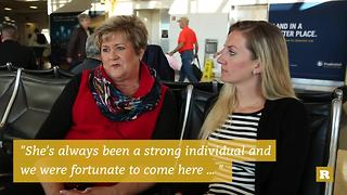 Rare Goes Yellow: A mother-daughter pair discuss having a husband who serves | Rare Military - Video