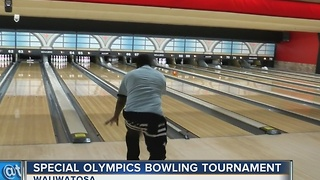 Hundreds bowl for Special Olympics in Wauwatosa - Video