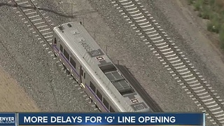 More delays for RTD G-Line