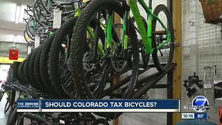 No more 'free rides': Colorado lawmaker proposes bicycle tax - Video