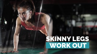 Toned legs with mountain climbers - Video