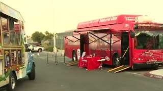Las Vegas police hold block party to highlight traffic safety