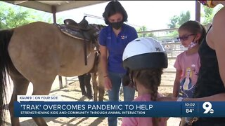 'TRAK' overcomes pandemic to help others heal