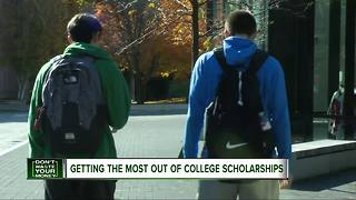 Consumer Reports: Tips to getting college scholarships - Video