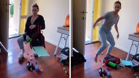 Mom shows what her kids do when they get home from school
