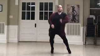 Plus-Size Dancer Struts Killer Moves in High Heels