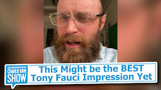 This Might be the BEST Tony Fauci Impression Yet