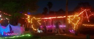 Viewer Stacy shows off her Halloween decorations